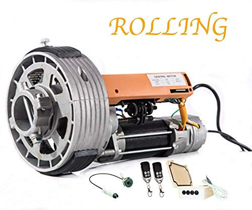 KIT MOTOR PUERTA ENROLLABLE ROLLING 200KG