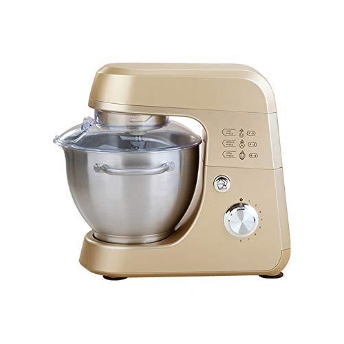 ECSWP Mezclador de Masa eléctrico de 4,2 l, batidora Profesional de Huevos, batidora de Cocina, batidora de Alimentos, batidora de Pasteles, máquina amasadora (Color : B)