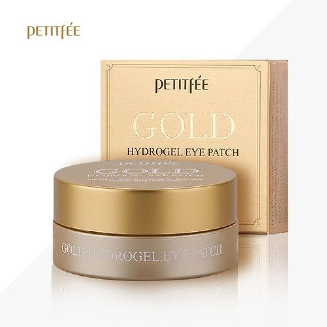 公平な恨み報復するPETITFEE(プチペ)ゴールドハイドロゲルアイパチ(60枚)/ Petitfee Gold Hydrogel Eye Patch (60Sheets) [並行輸入品]