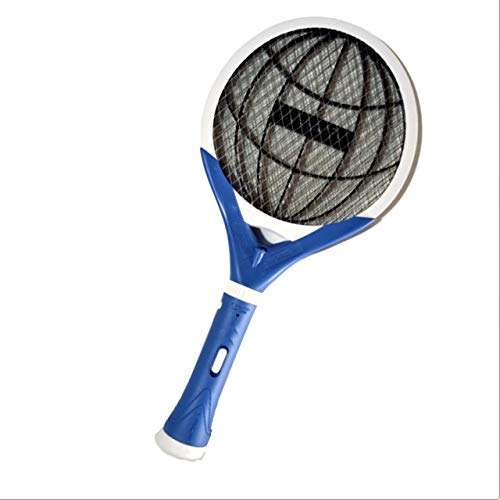 OREVA Mosquito Racket (ORMR-017)   Mosquito and Insects Repellent with Detachable LED Torch   Shock Proof   Triple Grill Protection   400 mAh Battery   1 Year Warranty   User/Eco Friendly.