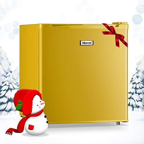 WANAICompactRefrigerator1.7CubicFtClassicRetroMiniFridgewith7AdjustableThermostatControlRefrigerator,SingleDoorRefrigeratorforKitchenDormApartmentBarOffice