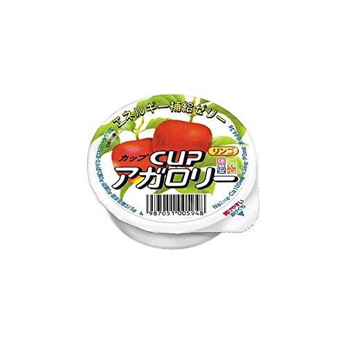 カップアガロリー りんご味 83g×24個セット 【栄養補給ゼリー】 キッセイ薬品 _051005948