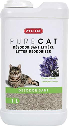 Zolux Désodorisant litière Pure Cat Parfum chevrefeuille en 1 Litre