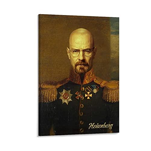 AAOO Royal Heisenberg Poster dekorative Malerei Leinwand Wandkunst Wohnzimmer Poster Schlafzimmer Malerei 16x24inch(40x60cm)