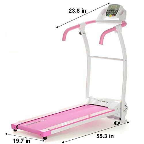 Confidence Fitness Motorized Running Treadmill