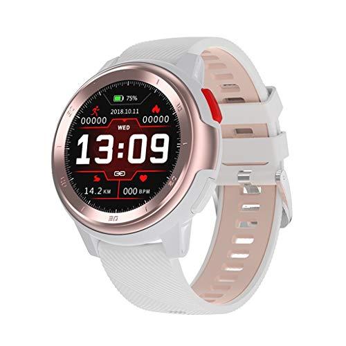 Relojes de pulsera Rastreadores de Actividad Deportiva, Pulsera Bluetooth Impermeable con Monitor de Frecuencia Cardíaca y Sueño, Múltiples Modos Deportivos, para Mujeres Hombres Android IOS watches