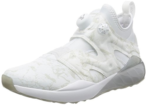 Reebok The Pump IZARRE, Chaussures de Fitness Femme, Blanc et Gris, 40 EU