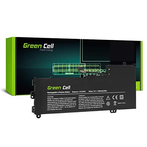 Green Cell® L14L2P22 L14M2P24 L14S2P22 Laptop Akku für Lenovo E31-70 E31-80 U31-70 IdeaPad 500s-13ISK 510s-13IKB 510s-13ISK (Li-Polymer Zellen 4500mAh 7.4V)
