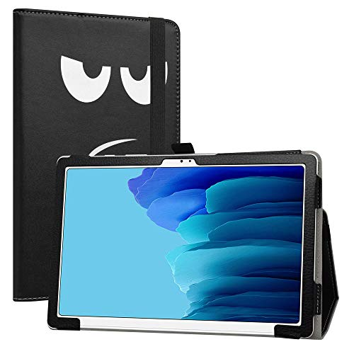 LiuShan Compatible con Galaxy Tab A7 Funda, Folio Soporte PU Cuero con Caso para 10.4' Samsung Galaxy Tab A7 10.4 (2020) T500 T505 Tablet(No es Compatible con Galaxy Tab A 10.1 T510),Don't Touch