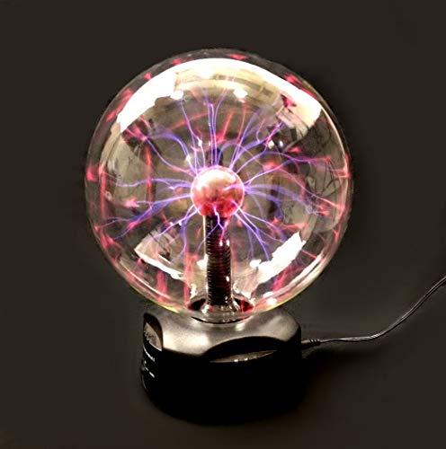 "EDM - 8"" PLASMA Nebula BALL Lightning Party Light TOUCH & SOUND Activated"