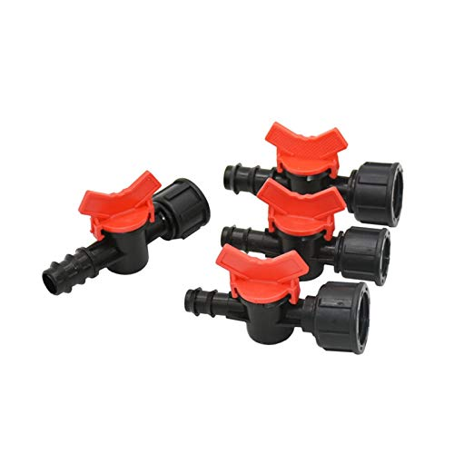 """WAQZ Pipeline Connection Female 1/2"""" 3/4"""" to 1/2 3/4 Hose Garden tap 16mm 20mm Irrigation Water Valve Mini Valve waterstop connectors Adapter 1pcs Durable (Color : 1I2 to 16)"""