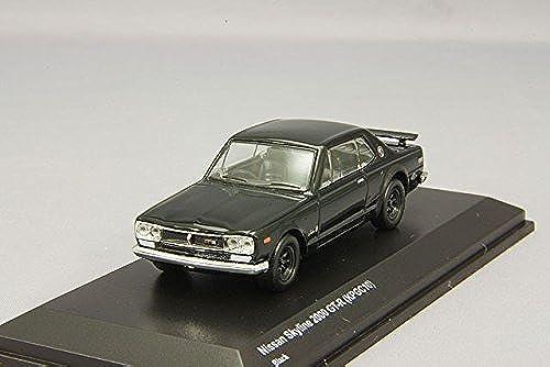 autorización Kyosho 1 64 Nissan Skyline GT-R GT-R GT-R KPGC10 negro KS07047A2  ahorra hasta un 80%