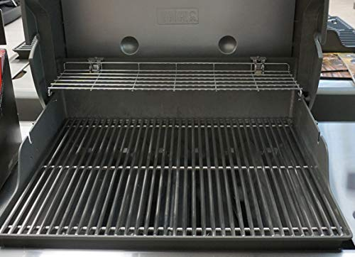 Stellfeld und Ernst 9 mm Edelstahl-Grillrost für Weber Genesis II 300er Gas-Grill Ersatz-Rost BBQ