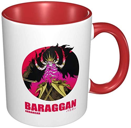 Bernice Winifred Anime 3d Muster Barragan Ruizenban 2. Espada Arrancar Keramik Kaffeetassen-Rot