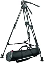Manfrotto Pro Video Support System w/ 532ART Roadrunner Tripod, 516 Pro Video Head,  Half Ball, and MBAG100P Padded Tripod Case