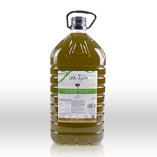 Arraigo sin filtrar - Aceite de Oliva Virgen Extra Premium (5 Litros) - Cosecha 2.020/21