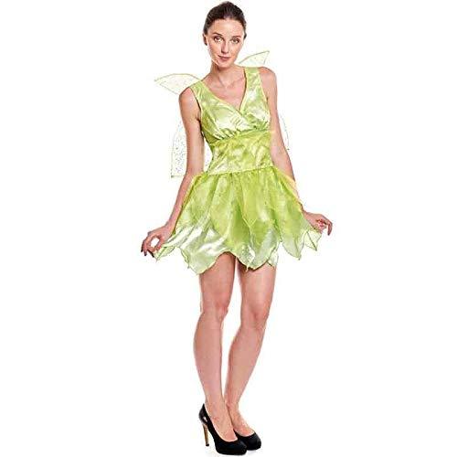 Disfraz Hada Campanilla Mujer Fantasía (Talla M) (+ Tallas)
