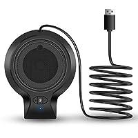 SINZON PC用マイク USBマイク コンデンサーマイク 音量調節可能 卓上 パソコン カラオケ 録音 全指向性 生放送 ゲーム 実況 会議 高音質 有線