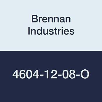 Brennan Industries 4604-06-04-O-B Brass Straight Adapter 0.562 Hex 7//16-20 ORB Thread 3//8 Hose Barb x 7//16-20 Male O-Ring Boss 0.562 Hex Inc. 3//8 Hose Barb x 7//16-20 Male O-Ring Boss 7//16-20 ORB Thread
