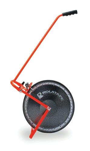 ROLATAPE 32-415 15-1/2-Inch Solid Single Measuring Wheel Feet