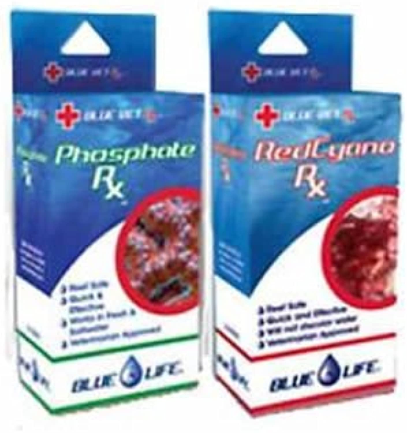 bluee Life Red Slime Rx & Phosphate Rx Combo Pack