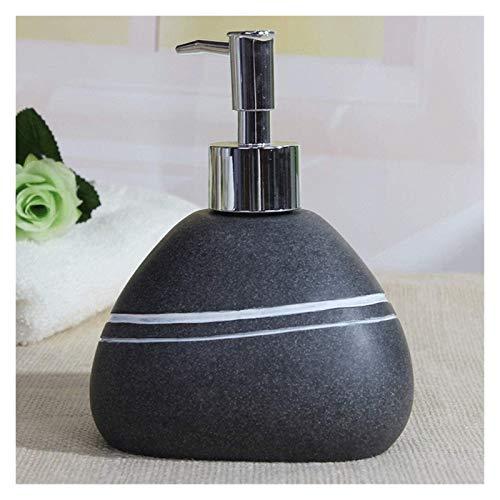 HLZY Dispensadores de jabón de encimera de baño, Dispensador de jabón del dispensador de jabón, dispensador de jabón de Cocina con Bomba de Acero Inoxidable a Prueba de óxido 304