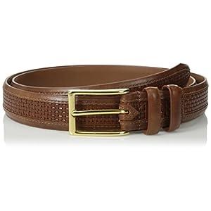 Allen Edmonds Men's Woven Inlay Belt 12