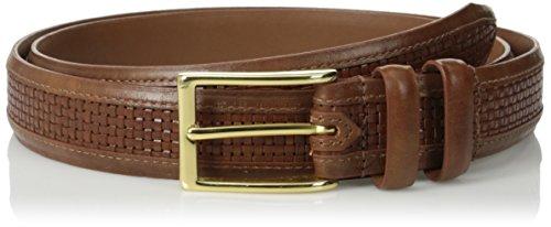 Allen Edmonds Men's Woven Inlay Belt 1