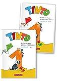 Tinto 1 1. Schuljahr - Buchstabenkurs mit Schreib- und Lesekurs Druckschrift: Teil 1+2 im Paket, mit Buchstabenhaus