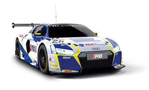 Scalextric- Audi R8 LMS GT3 Coche Pista, Color azul (Scale Competiton Xtreme 1)