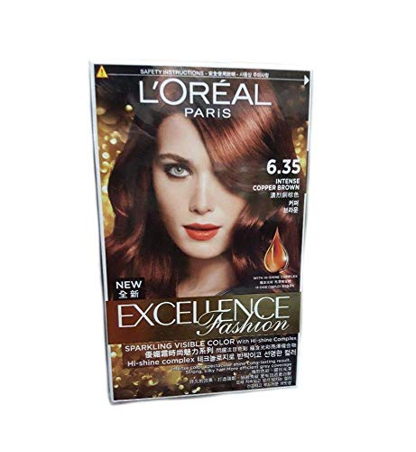 Excellence Excellence Fashion Intense Red Brown 6.35 1's