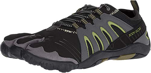 Body Glove Men\'s 3T Barefoot Warrior Water Shoe, Black/Aloe, 13 M US