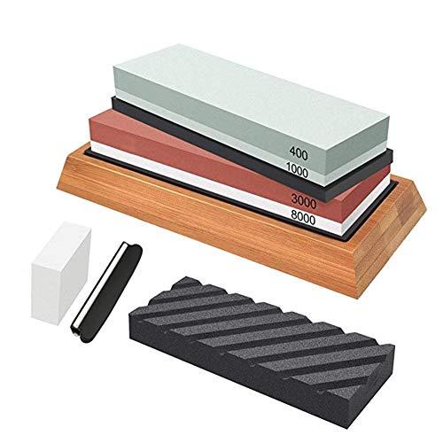runnerequipment - Juego de afilador de precisión de Doble Cara para afilar Grano 400-1000
