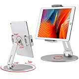 Tablet Stand and Holders with Adjustable Range and...