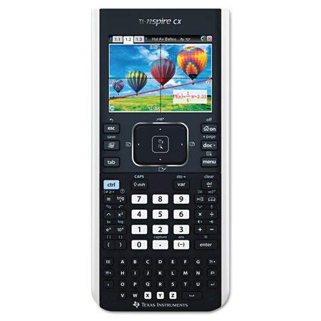 Texas Instruments TINSPIRECX TI-Nspire CX Handheld Graphing Calculator with Full-Color Display