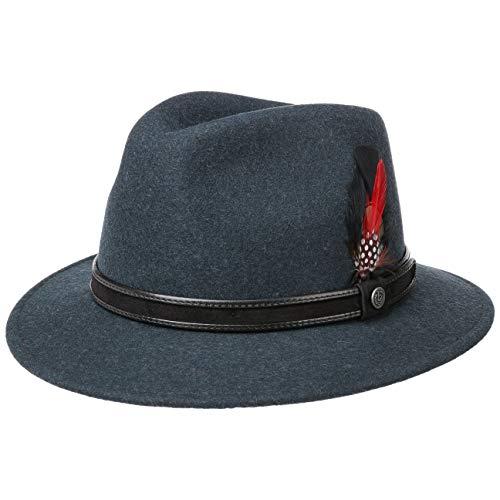 Bugatti Sombrero de Fieltro Crushable Hombre Lana