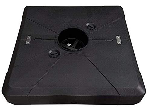 PURPLEAF Schirmständer für Ampelschirme, füllbar, 130 kg