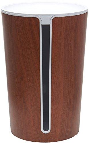 Bluelounge CableBin - Dark Wood - Cable Management - Flame Retardant [並行輸入品]