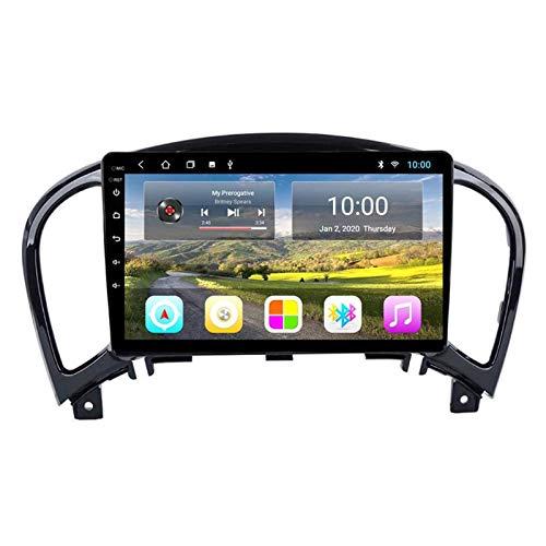 Autoradio di Navigazione GPS Android 8.1 da 9 Pollici per Nissan Juke 2004-2016, FM/RDS/Bluetooth/WiFi/Videocamera Vista Posteriore/Comandi al Volante,8core-WiFi: 4+64G