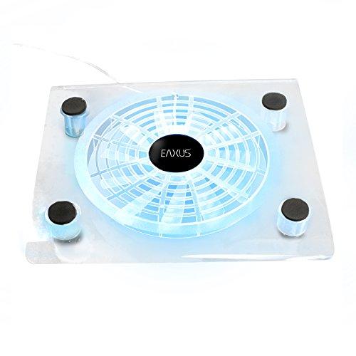 Eaxus®️ Kühler für PlayStation 4 - ❄️ LED Lüfter Ständer für PS4, PS4 Slim, PS4 Pro & Weitere Konsolen