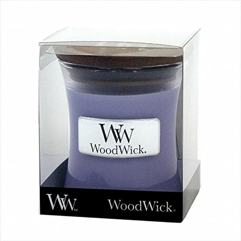 郵便物三角形修理工カメヤマキャンドル( kameyama candle ) Wood Wick ジャーS 「 ラベンダースパ 」