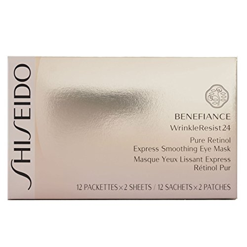 Shiseido Benefiance WrinkleResist24 Retinolo puro, Maschera Occhi,...