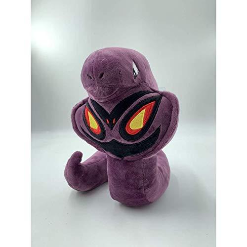 Vqxrhf Un muñeco de Peluche de Serpiente púrpura de pie de Juguete para niños y niñas, Regalo de cumpleaños, muñeco de Regalo de 23 cm cm
