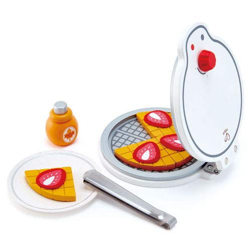 Hape Heiße Waffeln Kinder Waffeleisen Küchenspielzeug für Kaufladen Kinderküche Spielküche Rollenspiele