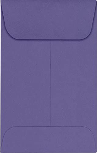 LUXPaper Coin Envelopes Wisteria 2 1 OFFicial site 2-Inch Special Campaign x 4-Inch 50-C 3