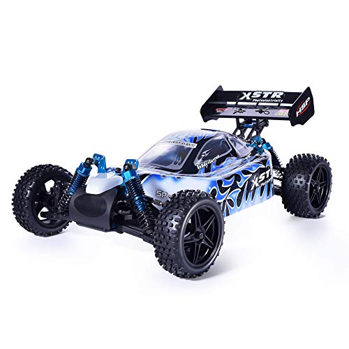 HSP 1:10 Scale Large RC Car 35+ kmh Speed Remote Control Car 4WD Electric Power On Road Drift Racing Car 94123 FlyingFish