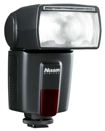 Nissin Digital Speedlite Di600 - Flash con Zapata, Negro