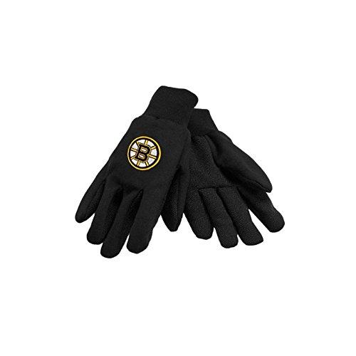 NHL Sport Utility Handschuhe Boston Bruins schwarz Team Work Utility Gloves