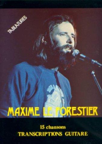 Partition : Le Forestier Maxime 15 chansons tablatures 2