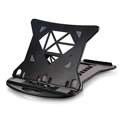MYMAO 01Laptop standaard, desktop office laptop lift draagbare beugel Radiator plank Verhoog basis Verticale luie ondersteuning mat, tot 17 inch, meerdere kleuren